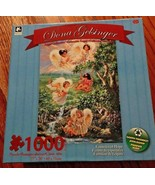 Angel Collection Puzzle Fountain of Hope 1000 Piece Dona Gelsinger NEW - $12.99