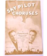 "Vintage 1944 ""Sky Pilot Choruses"" Music Booklet by Sky Pilot Publishing ... - $5.49"
