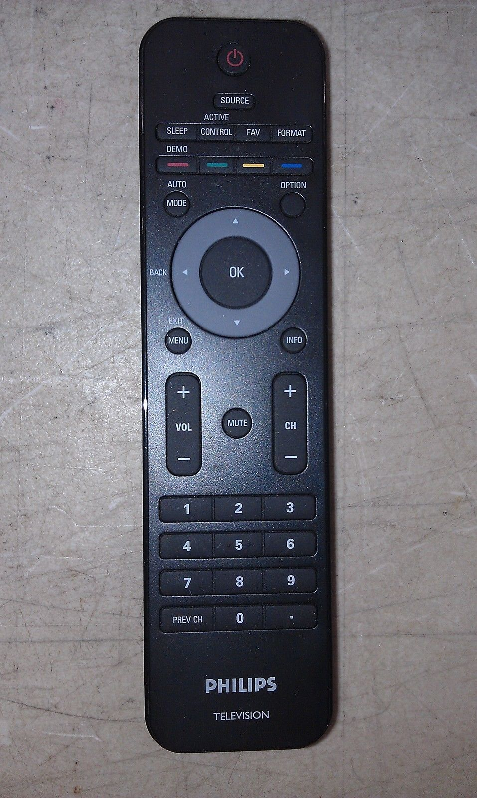 5EE44 PHILIPS LCD 52PFL7403D REMOTE CONTROL, EXTREMELY GOOD CONDITION!