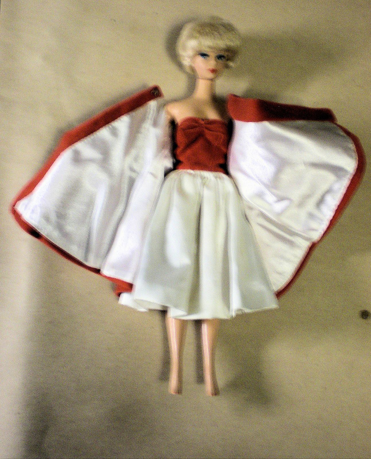 Barbie -  Red Flare Reproduction Fashion  - Barbie Doll Included (1958)