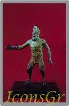 Ancient Greek Bronze Museum Statue Replica of Pan (2003) [Kitchen] - $67.72