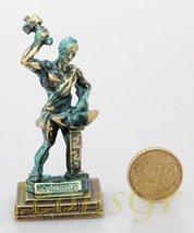 Ancient Greek Zamac Miniature Statue of Hephestus (Green/gold) [Kitchen] - $12.64