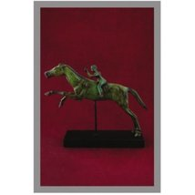 Ancient Greek Bronze Museum Statue Replica of the Rider of Artemision (1... - $199.04