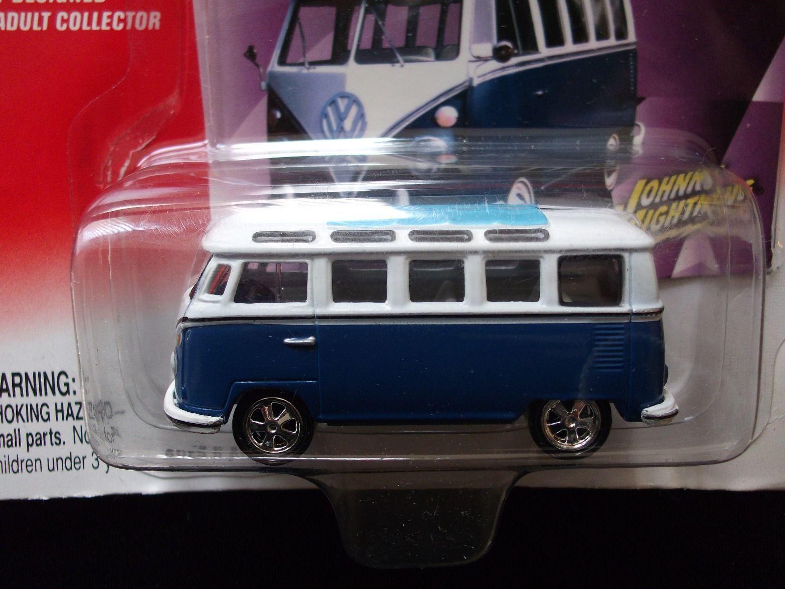 1966 21 WINDOW VW SAMBA BUS JOHNNY LIGHTNING VOLKSWAGEN SERIES CARS