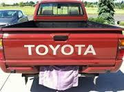 Toyota Truck Tailgate Decal Sticker TRD Off Road Sport Gray grey pick up
