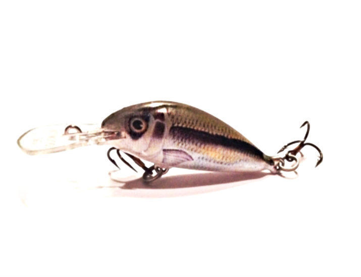 4 Ugly Duckling Lures Balsa Wood baits for ultralight crappie fishing baby bass