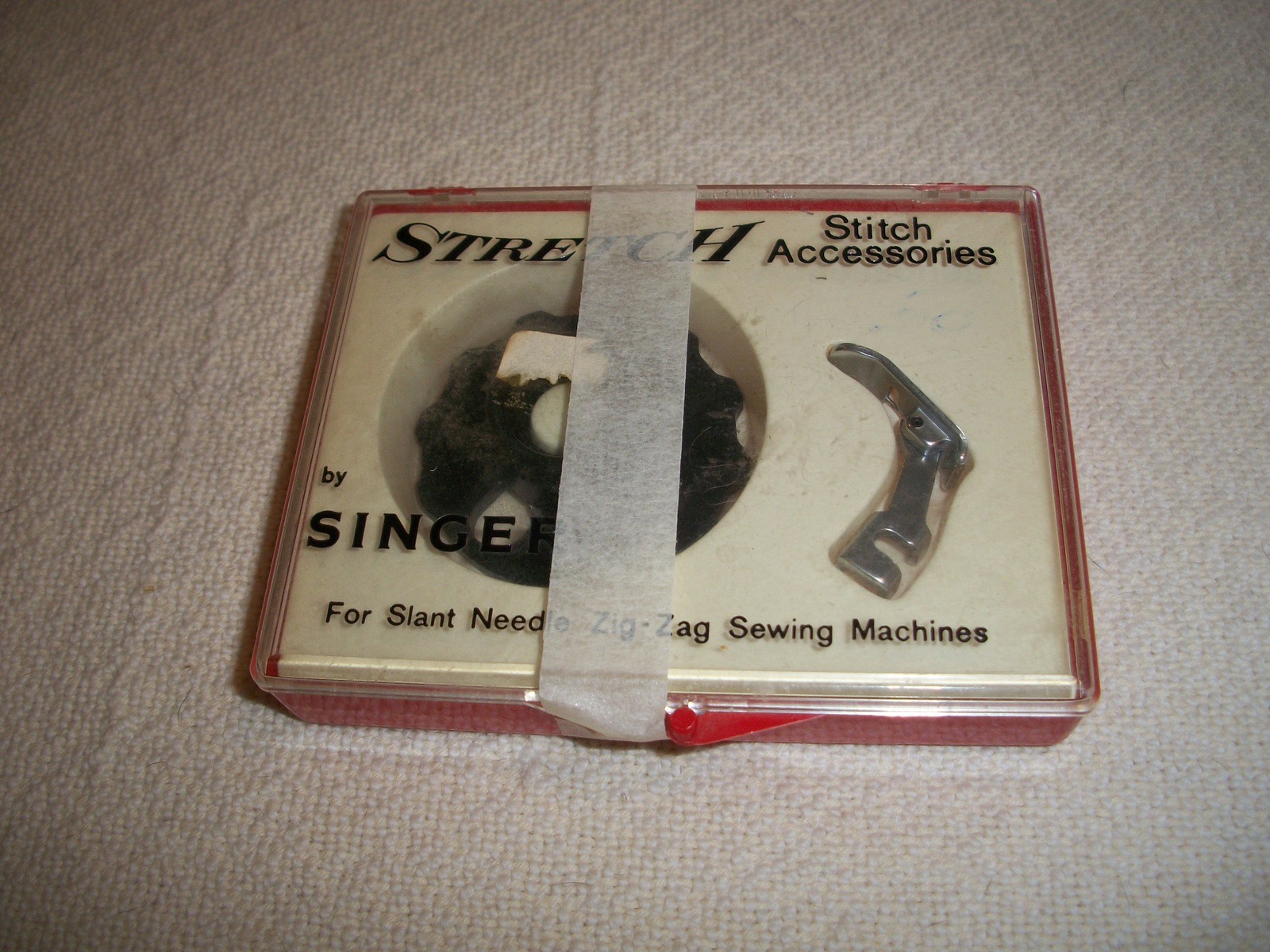 Singer Stretch Stitch Accessories for Slant Needle Sewing Machines
