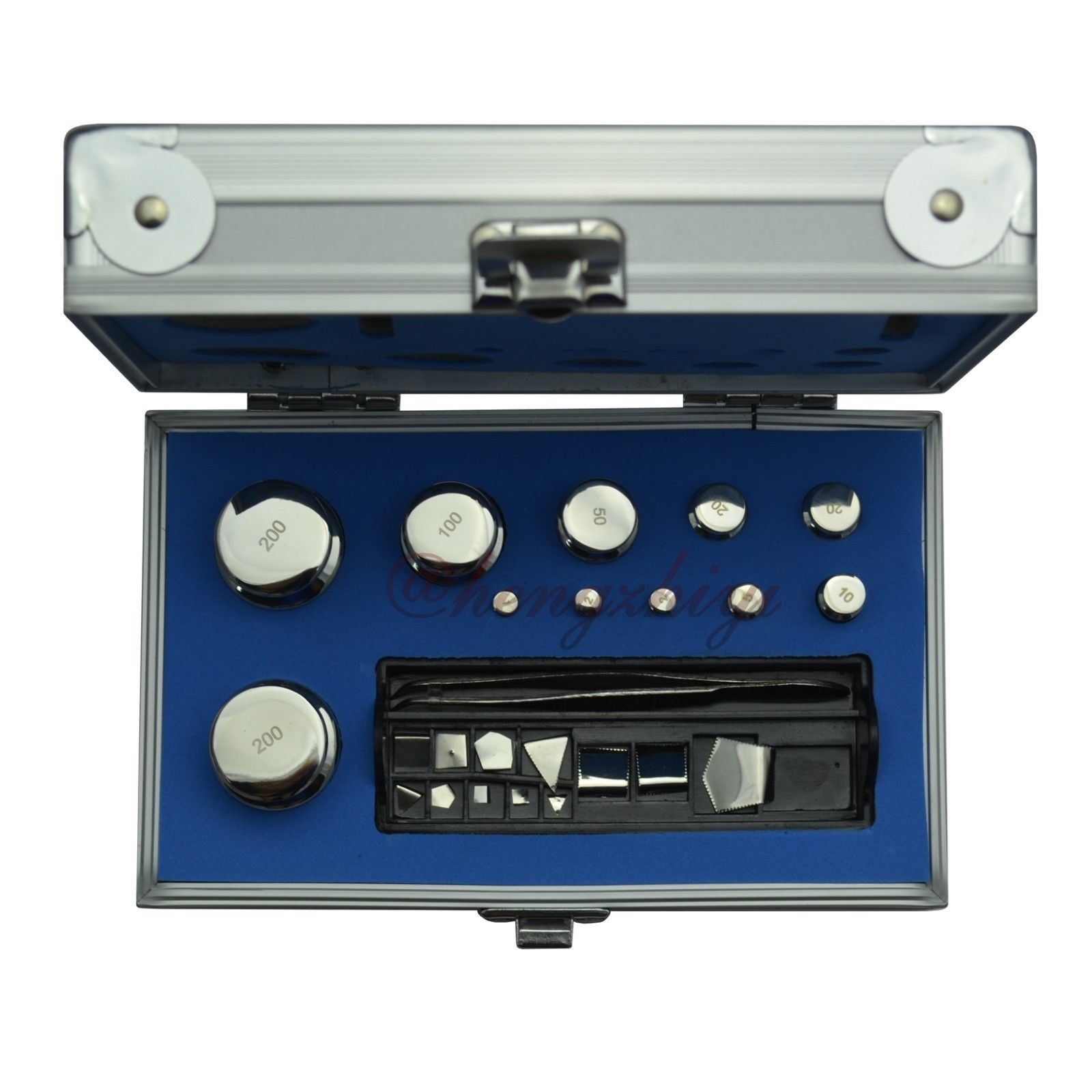 F2 Class 1mg-200g Stainless Steel Balance Calibration Weights Set w Certificate