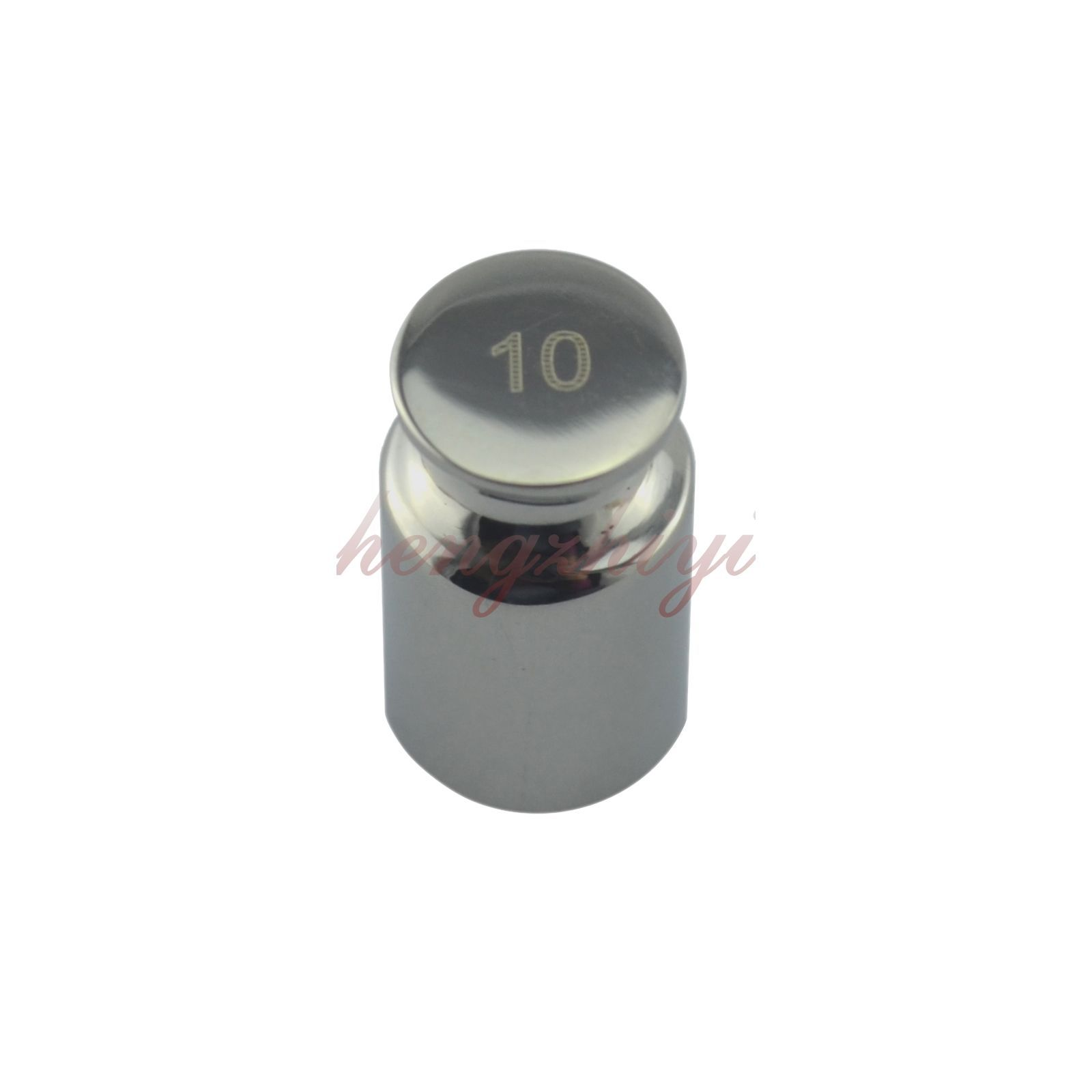 F1 Grade 10G 304 Stainless Steel Calibration Weight for Precision Scale Balance