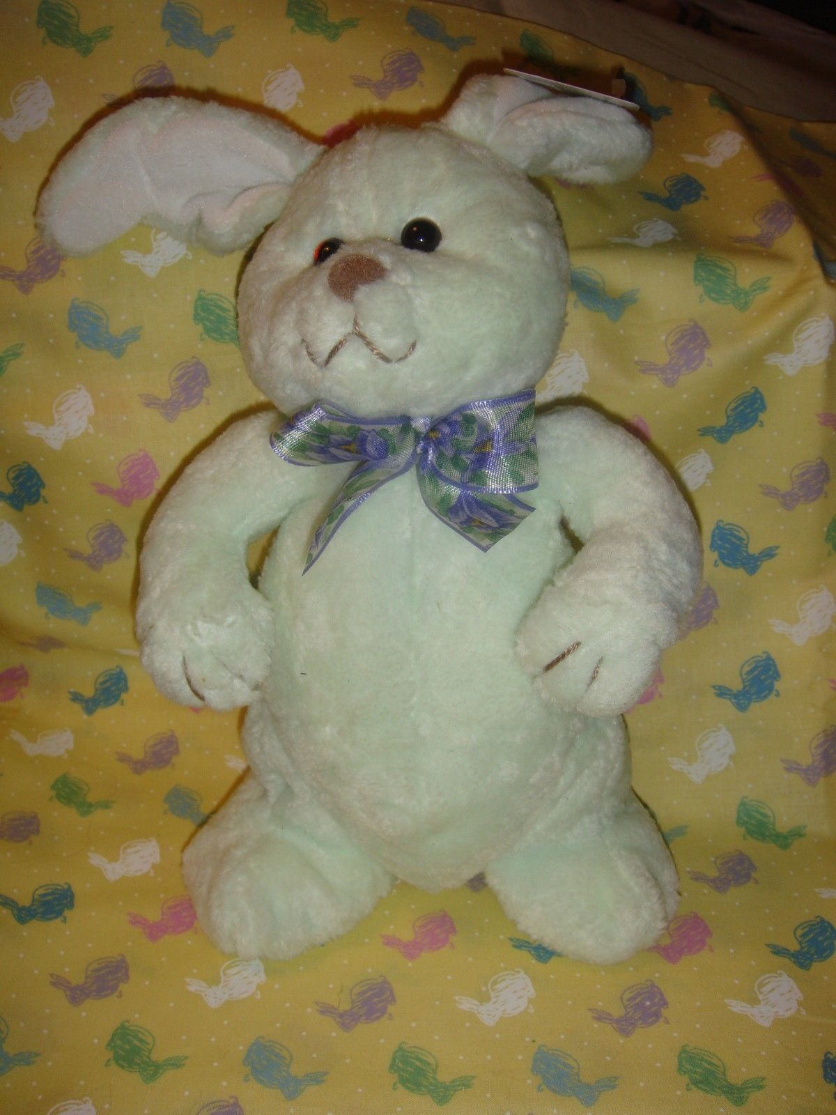 Gund Pastel Green Smoothie Plush Bunny Rabbit, #3611