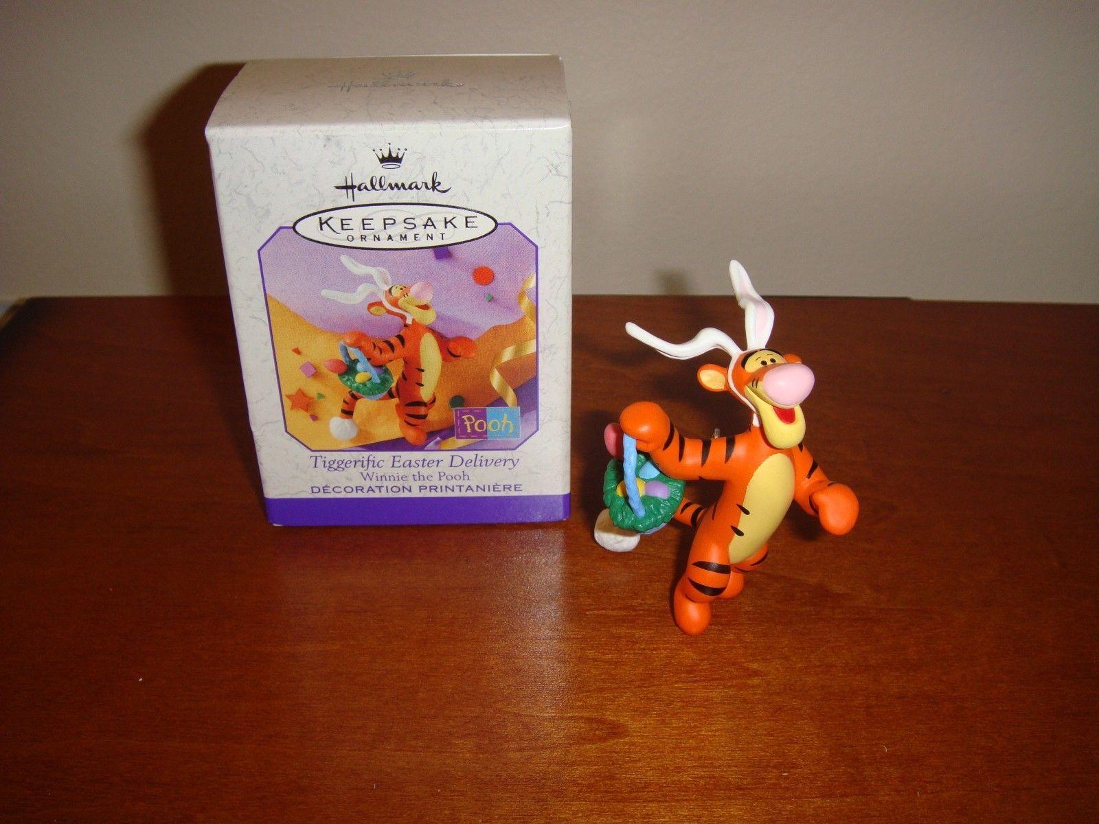 Hallmark 1999 Tiggerific Easter Delivery Winnie The Pooh Ornament