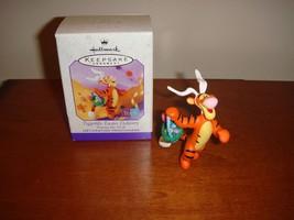 Hallmark 1999 Tiggerific Easter Delivery Winnie The Pooh Ornament - $9.79