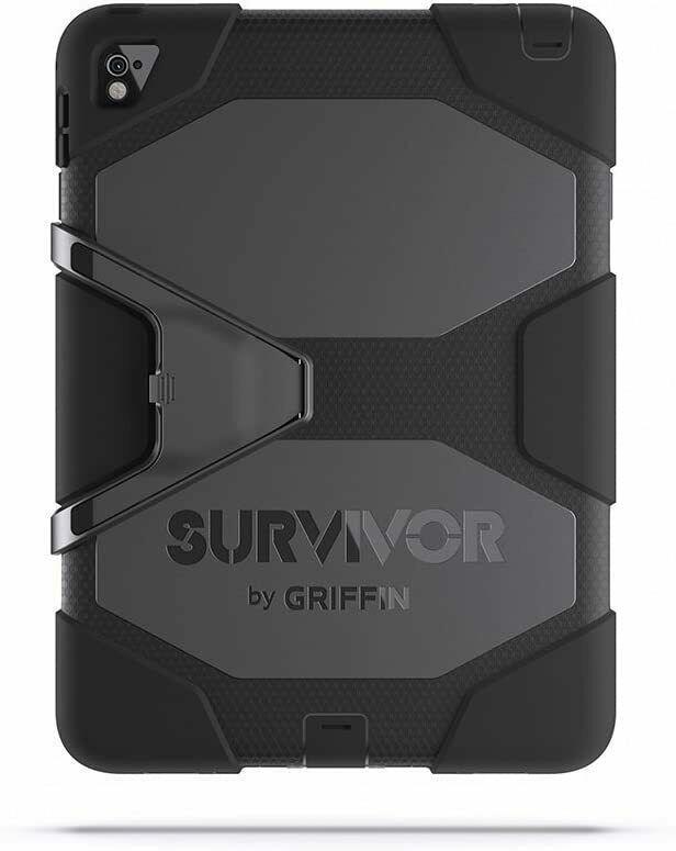 Griffin Survivor Case for iPad Air 2 and iPad Pro 9.7 - Black