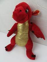 "Red & Gold Dragon Animaland 2011 Plush 16"" Stuffed Animal Toy - $19.79"