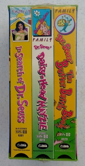 Pick the Daisy that's Making America Crazy (used Dr. Seuss VHS boxed set)