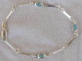 Light blue crystal bracelet  - $21.00