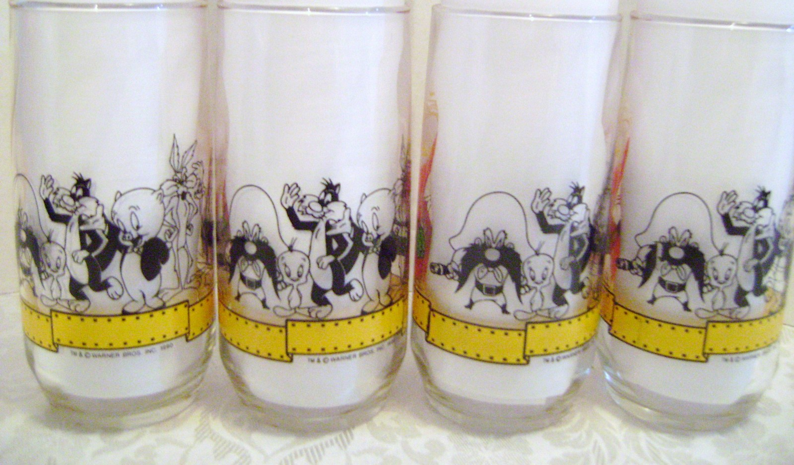 Bugs Bunny 50th Anniversary Glasses