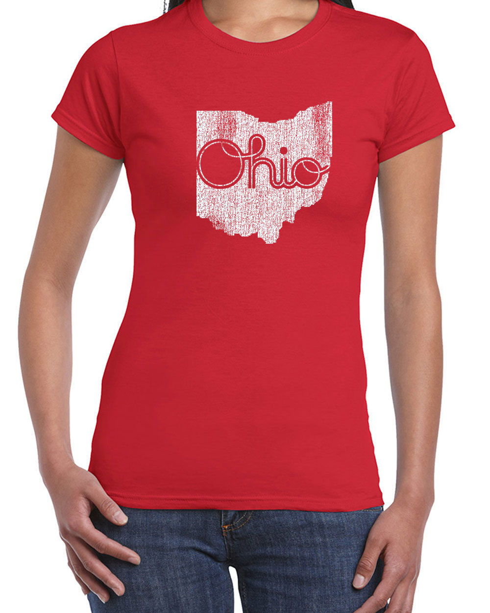 143 Ohio State women's T-Shirt Ohio Pride college state sports new Sizes/Colors
