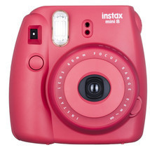 Fuji instax mini 8 Red/RASPBERRY  Fujifilm inst... - $95.00