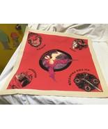 vintage Dragon Dice red game mat unused TSR - $4.95