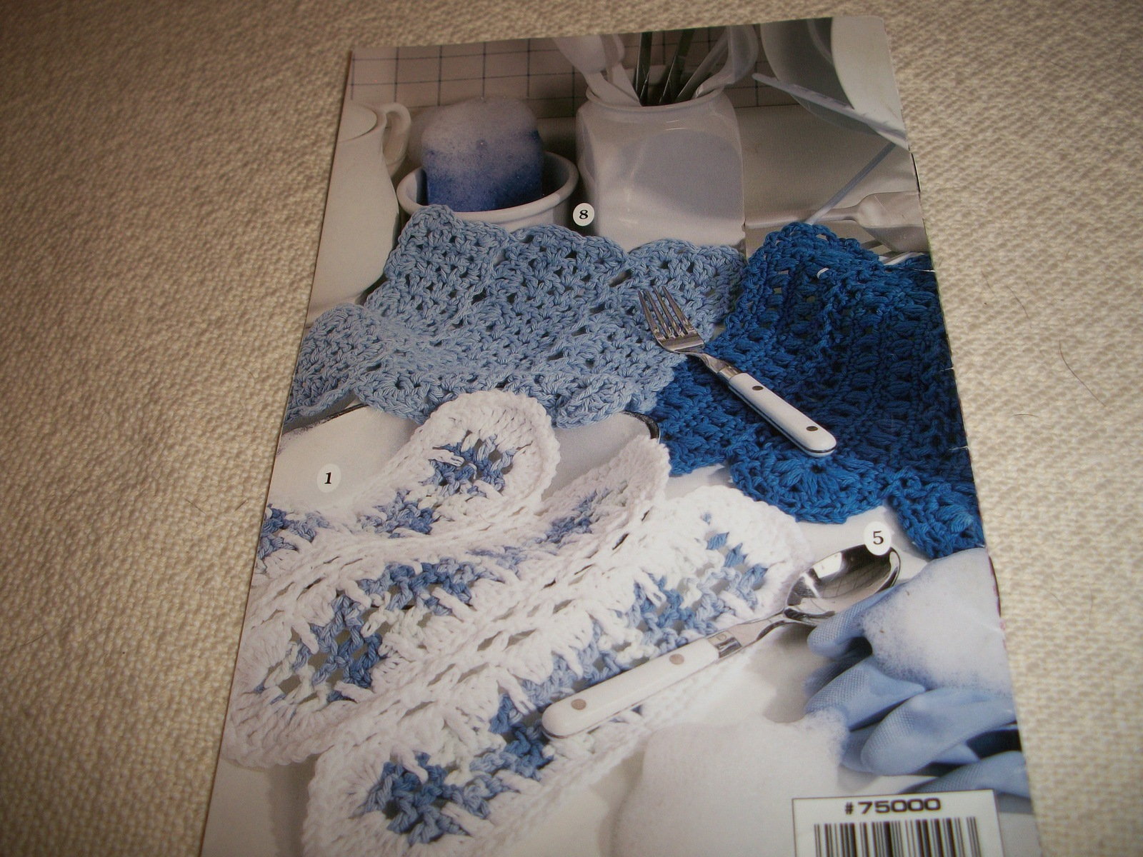 Dishcloths By The Dozen to Knit & Crochet