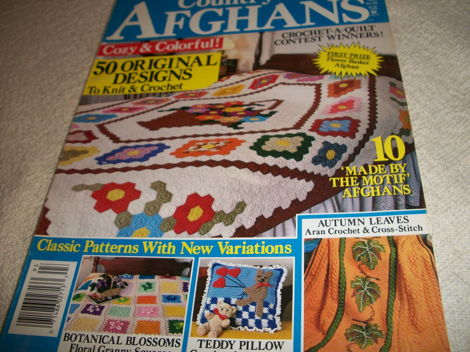 Country Afghans Fall 1989