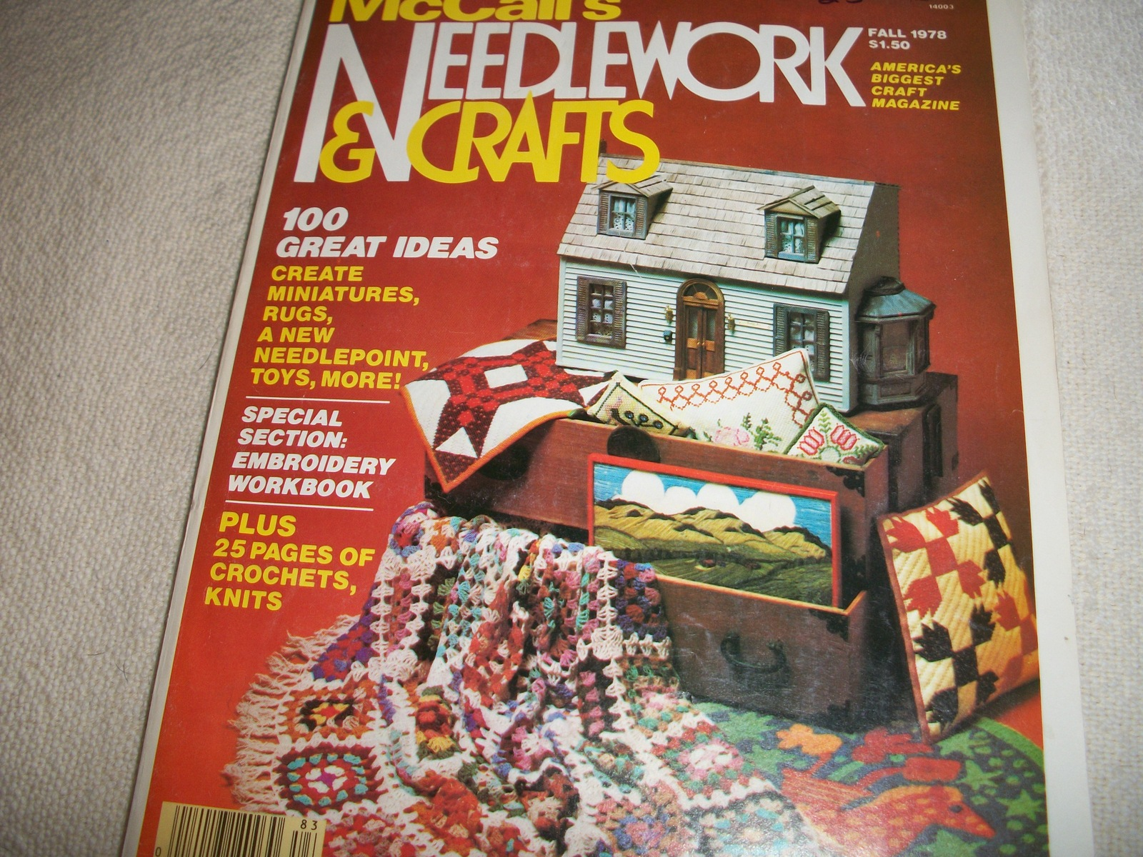 McCall's Needlework & Crafts Fall 1978
