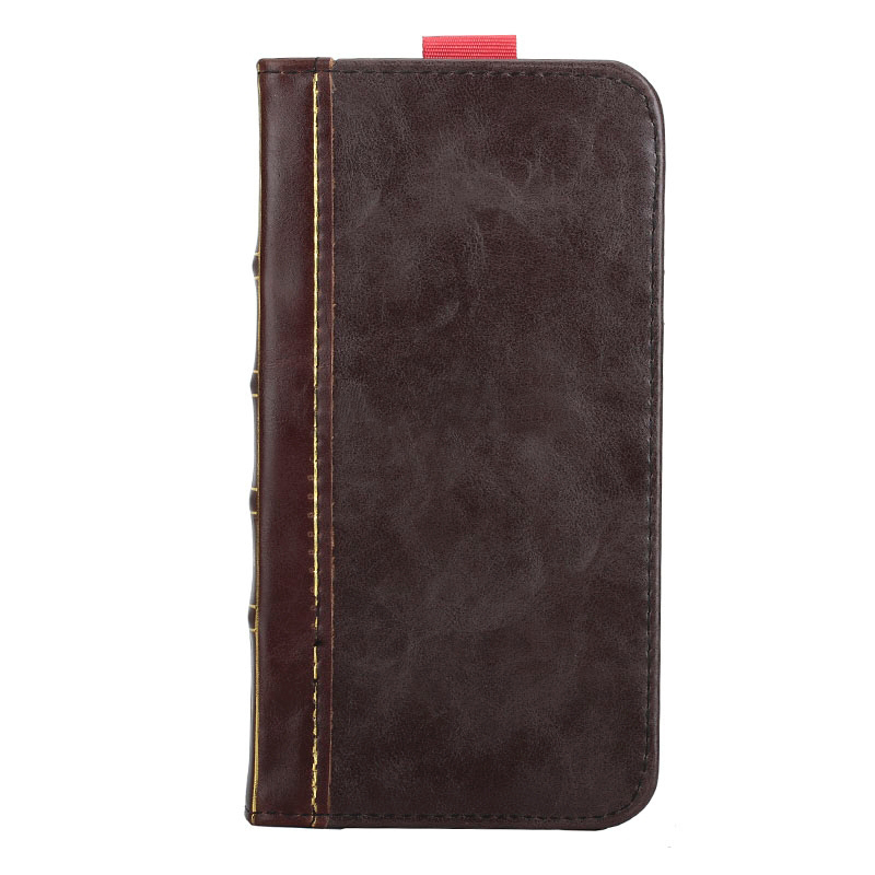 iPhone 6 Leather Horizontal Flip BOOK style wallet case