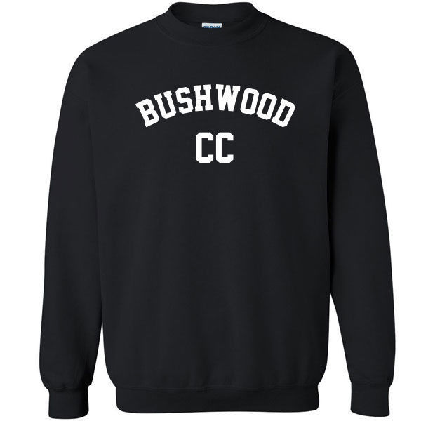 216 Bushwood Crew Sweatshirt caddy 70s movie comedy costume NEW All Sizes/Colors