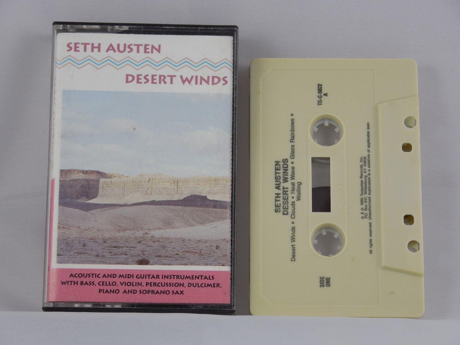 Seth Austen - Desert Winds 1990 Cassette Folk