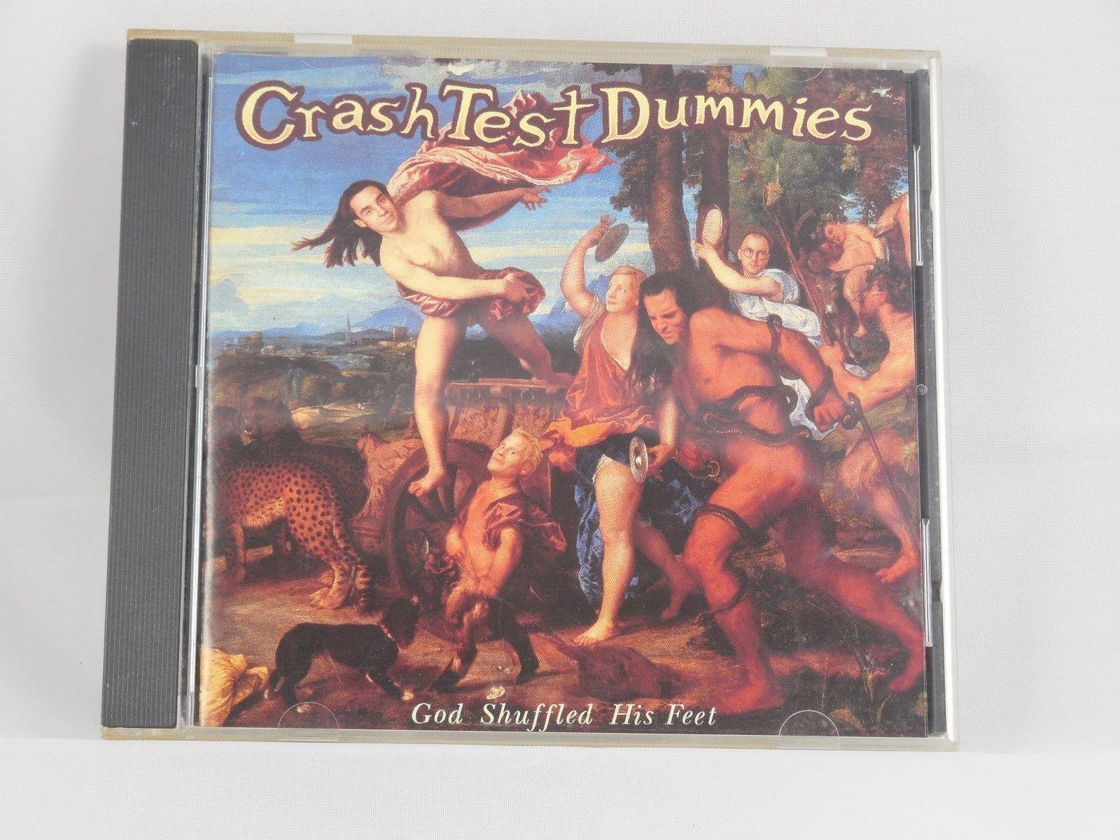 "God Shuffled His Feet by Crash Test Dummies CD ""Near Mint"" (FREE SHIPPING)"