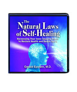 THE NATURAL LAWS OF SELF-HEALING 9 CD LIFE CHANGING SEMINAR GERALD EPSTE... - $79.08