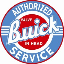 Buick Authorized Service 42 Inch Baked Enamel Metal Sign Wall Decor Gara... - $449.00