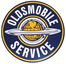 "Oldsmobile Service 25.5"" Metal Advertising Sign... - $119.95"