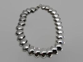 Vintage Jeray Rice Weiner Silver Tone Necklace - $47.52