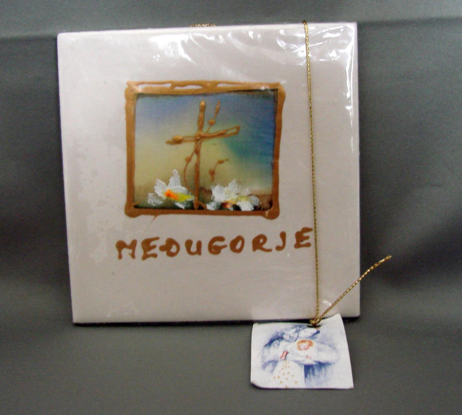 Medugorje Souvenir Art Tile NEW