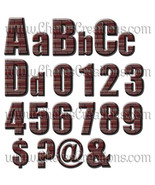Brick Alphabets and Frames for Digital Scap Booking Edit - $1.75