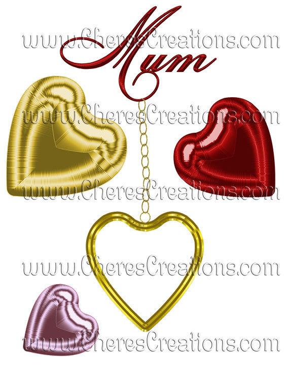 Mom Heart Locket Transfer