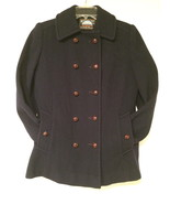 Mackintosh Authentic Peacoat 100% wool Made in U.S.A. Navy Blue True Vin... - $150.00