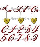 Golden Rosebud Locket Digital Alphabet for Digital Scap Booking - $1.75