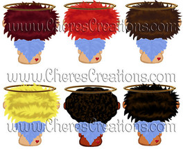 Boy or Girl Angels Digital Clip Art - $1.75+