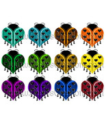 Heart Ladybug Clip Art for Digital Scap Booking Scrapbooking Craft - $1.75