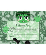 Halloween  Party Invitations 7x 5 inches - $2.00