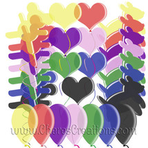 Party Balloon Digital Clipart for Digital Scap ... - $1.75