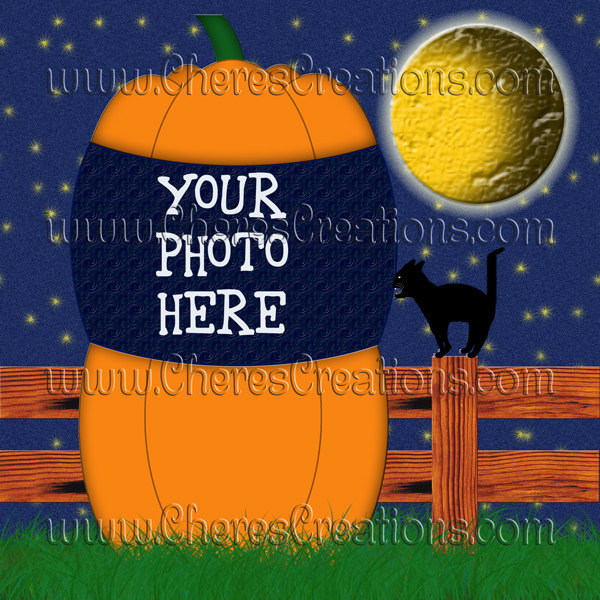 13 Halloween Quick Pages for Digital Scap Booking