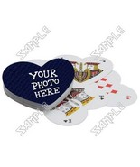 Custom Personalized Playing Cards (Heart) - $19.99