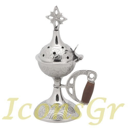 Christian Orthodox Greek Censer (4027-n) [Home]