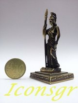 Ancient Greek Zamac Miniature Statue of Athena (Gold) [Toy] - $12.64