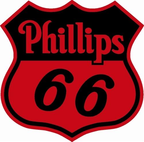 Phillips 66 Gas Motor Oil 25 5 Baked Enamel Metal