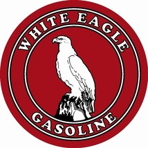 "White Eagle Gasoline 25.5"" Baked Enamel Metal S... - $119.95"